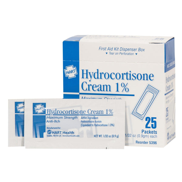 Hydro Cream 1% 0.9 gm - 25/Box