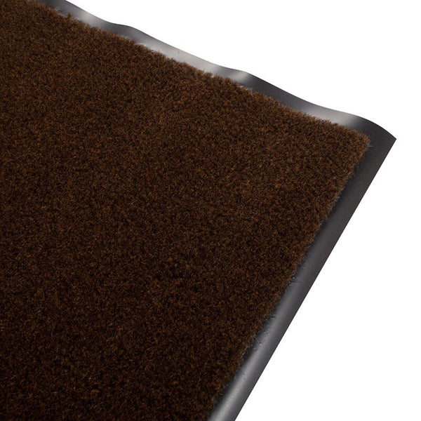 Olefin Indoor Carpet Walnut Brown 2' x 3', Slip Resistant, Food Service Safety