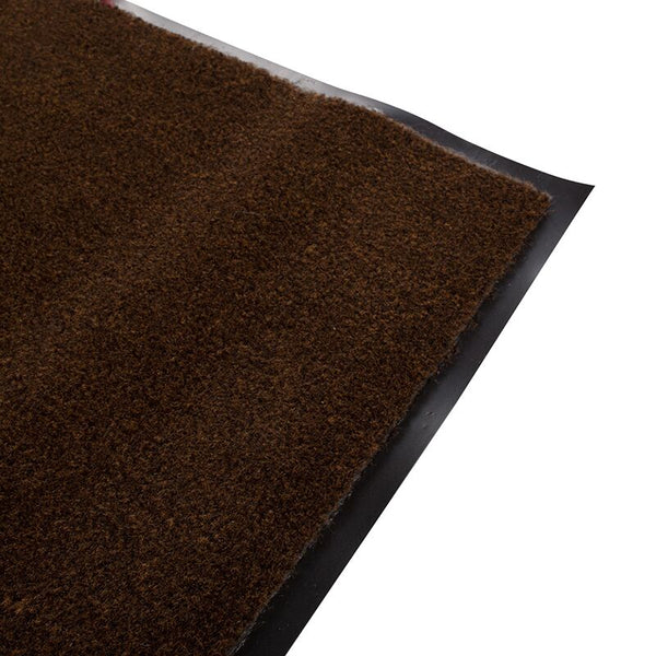 Olefin Indoor Carpet Walnut Brown 3' x 5', Slip Resistant, Food Service Safety