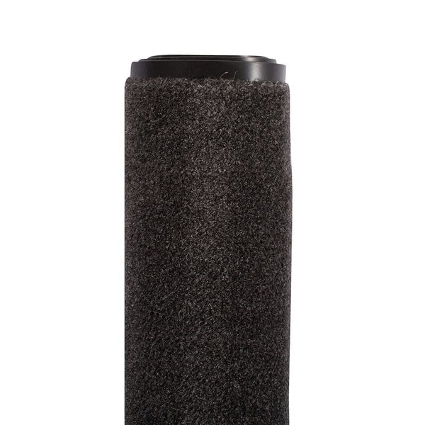 Olefin Indoor Carpet Charcoal Grey 3' x 5', Slip Resistant, Food Service Safety