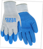 PowerGrip 10 Gauge Poly Knit with Rubber Palm Glove - Mens Sizes M-XXL