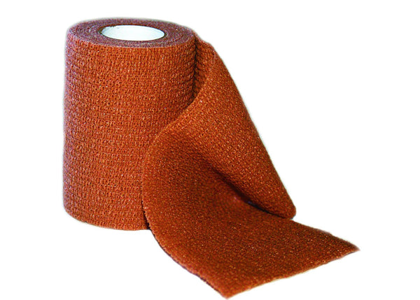 Self Adherent Wrap, Brown, 3