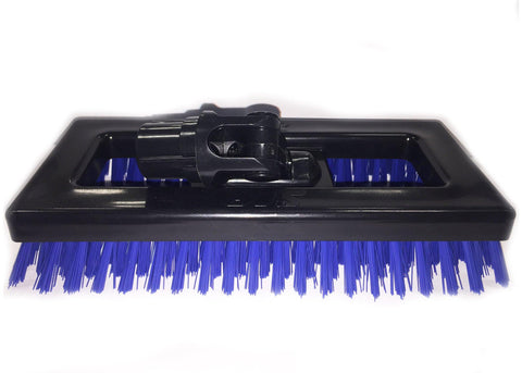 Blue Baseboard Brush, 100% Polypropylene, Interchangeable Handle