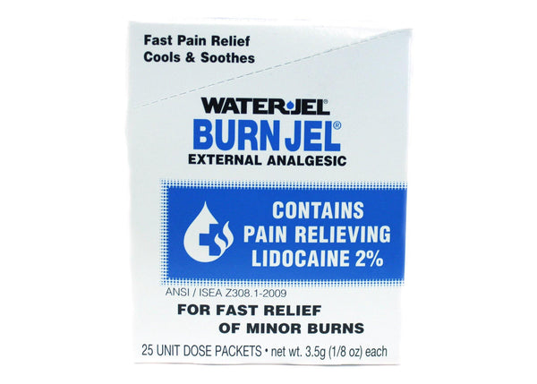 Water-Jel Burn Jel - 25/Box
