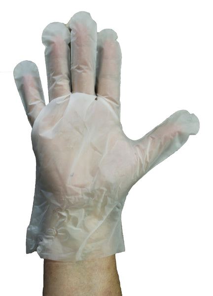 Co-Poly General Purpose Disposable Gloves - Sizes SM-LG