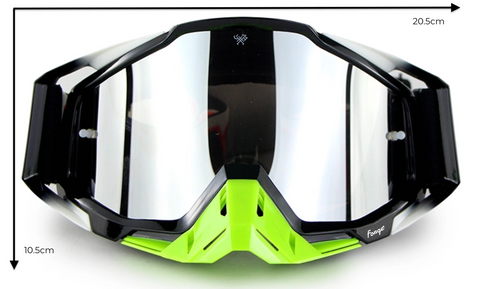 Forge Descent Goggles Size