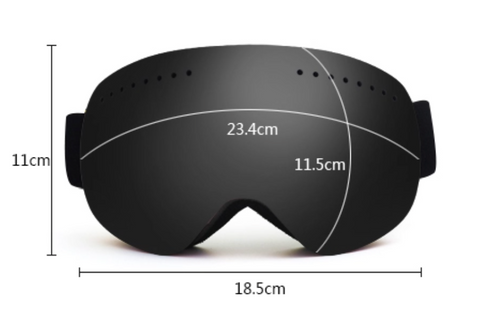 Forge Altitude Snow Goggles Size Chart
