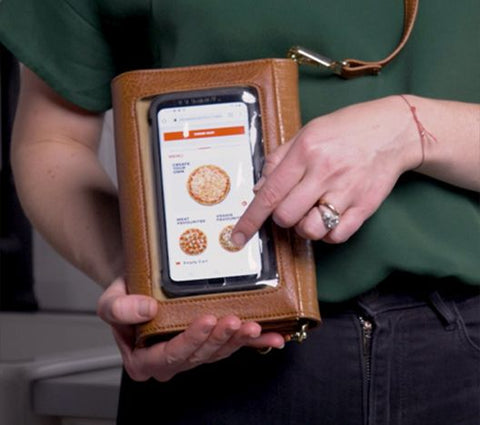 Clean and Safe Touch Screen Wallet Cayyogo