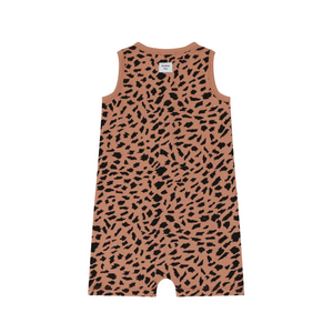Abstract Animal Kids sleeveless gender neutral Shortie by Another Fox | Little Oeuf