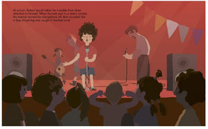 Bob Dylan  | Hardcover Kids book  - Little Oeuf
