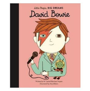 David Bowie - Little People, BIG DREAMS Hardcover - Little Oeuf