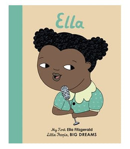 My First Ella Fitzgerald - Little People, BIG DREAMS Board Book - Little Oeuf