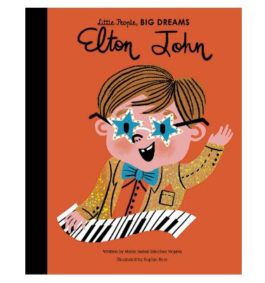 Elton John - Little People, BIG DREAMS Hardcover - Little Oeuf