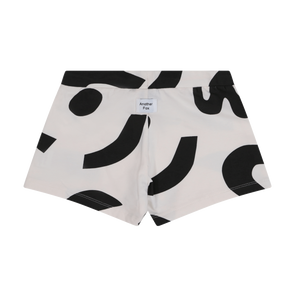 Hero Kids Shorts 1-5 years black and white abstract jersey kids shorts