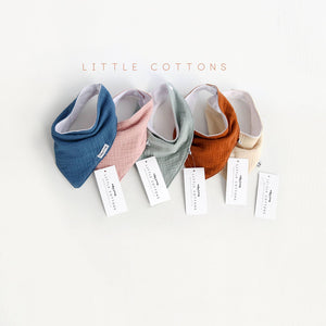 Organic Cotton Baby Bib - Little Oeuf