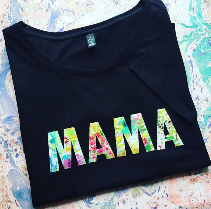 Liberty London MAMA T Shirt - Little Oeuf