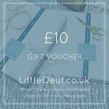 Gift Card ~ £10, £25, £50 & £100 - Little Oeuf