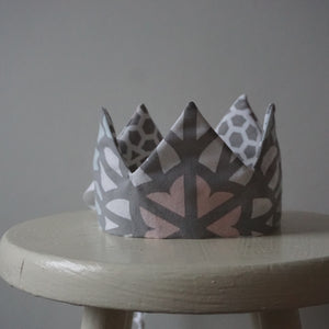 Childrens Crown - Lace Wing Fabric Crown - Little Oeuf