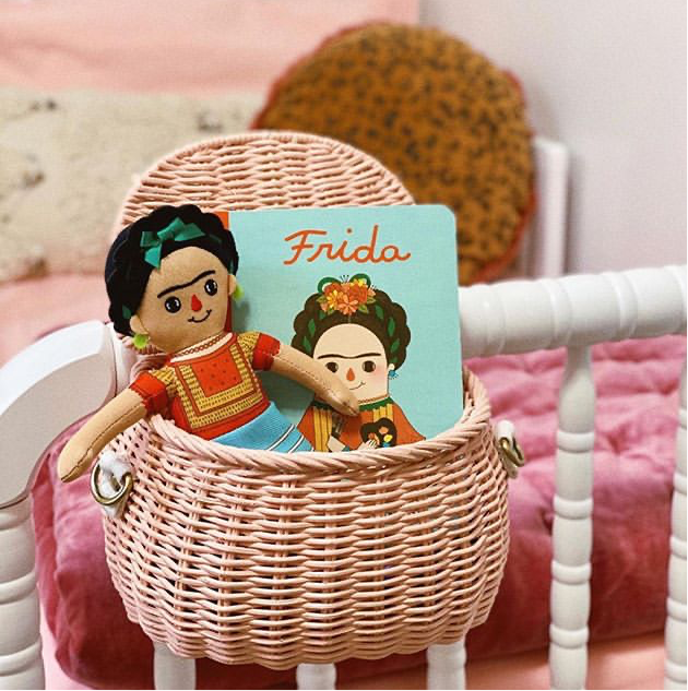 My First Frida Kahlo -  Board Book & Doll Gift Box - Little Oeuf