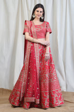 Fully Embroidered Lehenga Set