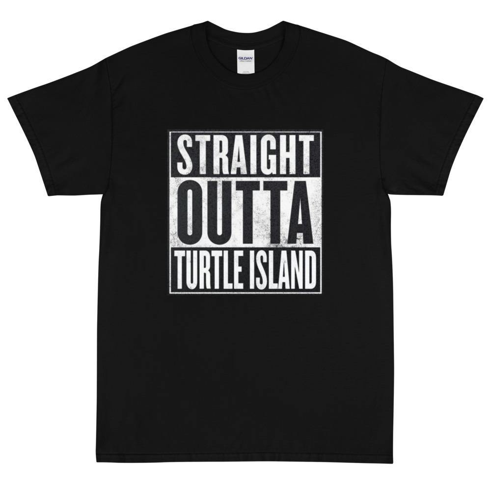 Straight Outta Turtle Island T-Shirt - Shop OrigineStraight Outta Turtle Island T-ShirtShop Origine