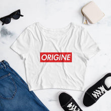 Load image into Gallery viewer, Women's Origine Crop Tee - ORIGINEWomen's Origine Crop TeeORIGINE