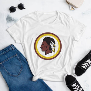 Women's Redskin Indian Short Sleeve T-shirt - ORIGINEWomen's Redskin Indian Short Sleeve T-shirtShop Origine