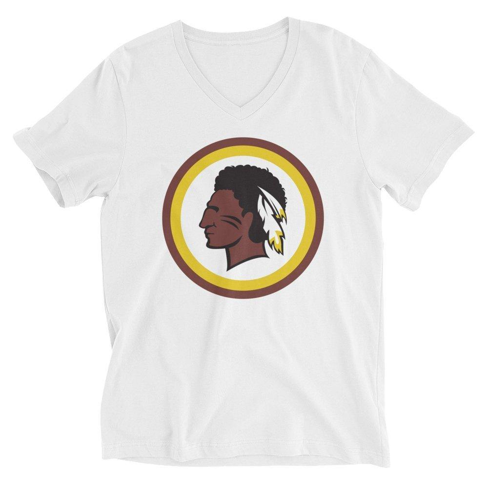 Women's Redskin Indian V-Neck T-Shirt - ORIGINEWomen's Redskin Indian V-Neck T-ShirtORIGINE