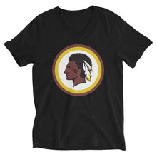 Load image into Gallery viewer, Women's Redskin Indian V-Neck T-Shirt - ORIGINEWomen's Redskin Indian V-Neck T-ShirtORIGINE