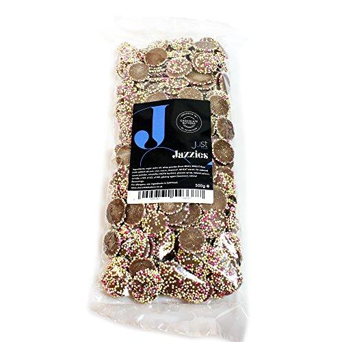 Just Treats Chocolate Jazzles (500g Share Bag)