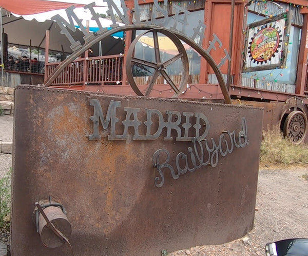 Madrid New Mexico, Turquoise Trail Scenic Byway, Motorcycle Ride