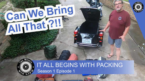 Motorcycle Trip: CAN WE BRING ALL THIS?!  #MotorcycleRide #Motorcyclepacking