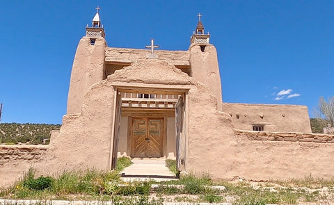 San Jose de garcia church, high road to taos, taos, new mexico