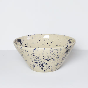 Medium Bowl, Blue Splash