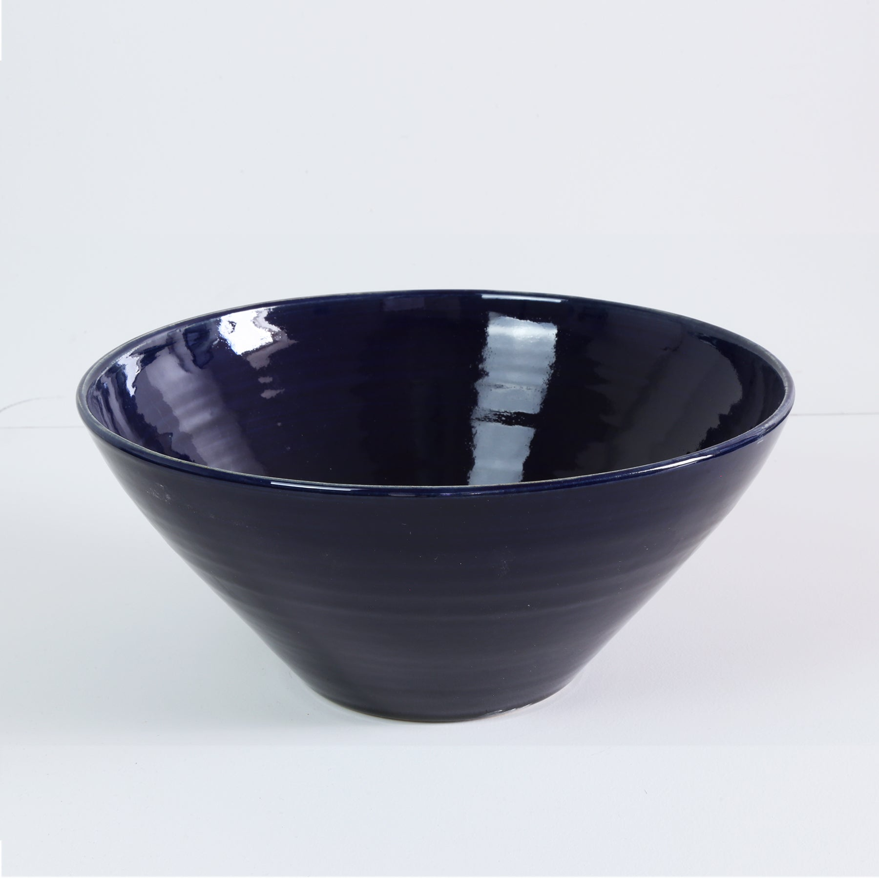 Large Bowl, Deep Blue