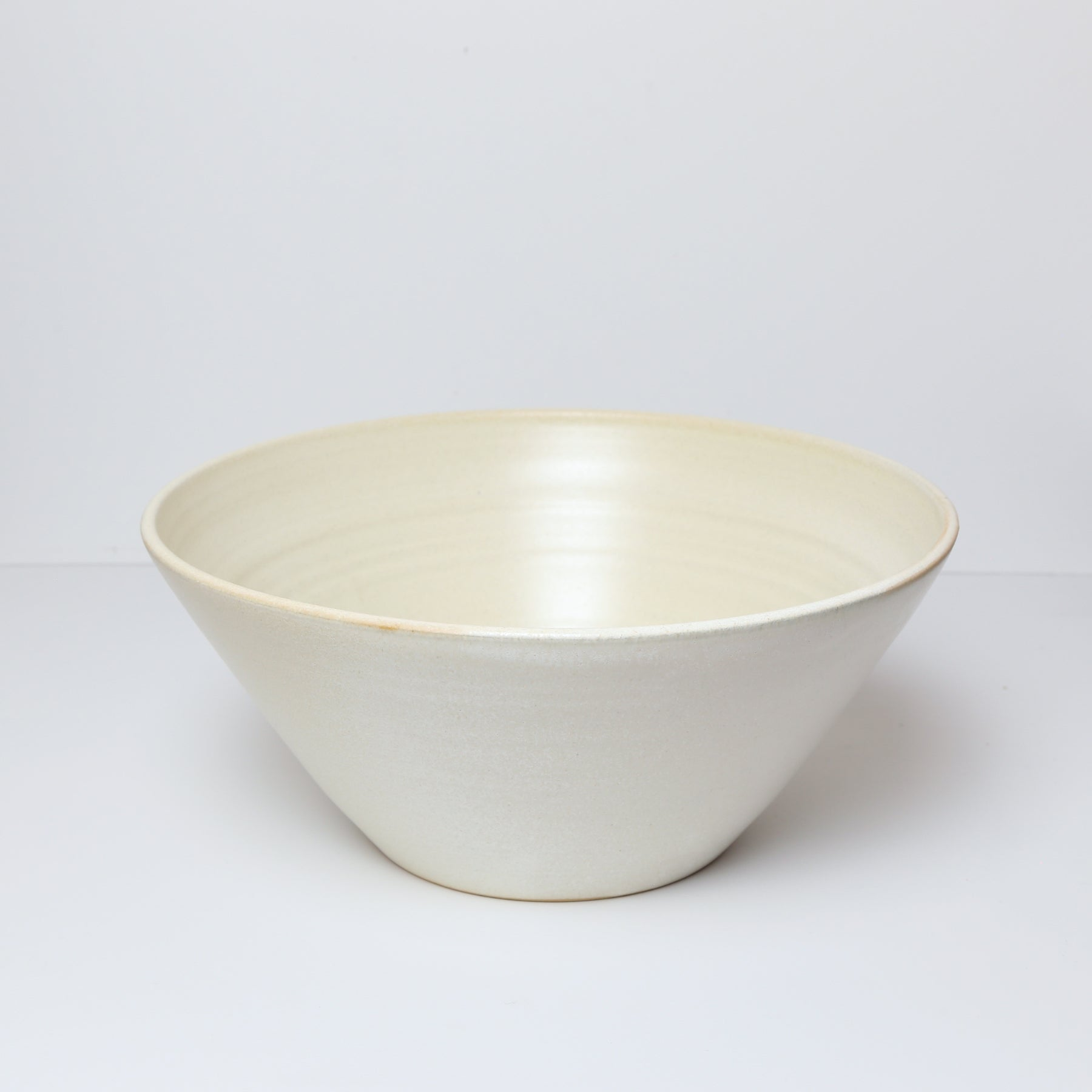Medium Bowl,  Creamy White