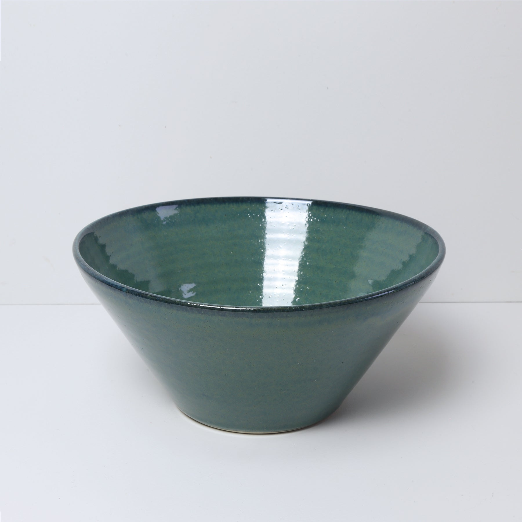 Medium Bowl, Green Ocean