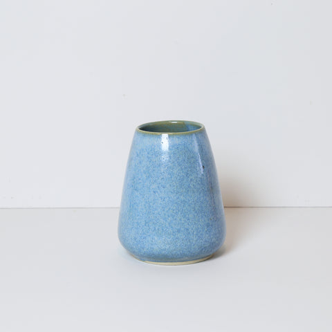 Tiny Vase, Tropicana Blue