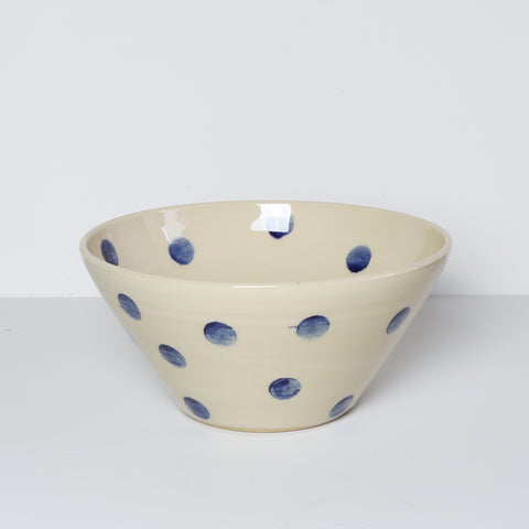 Medium Bowl, Polka Dot