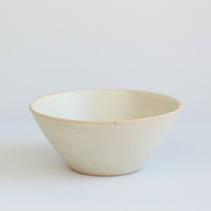 Small Bowl, Creamy White