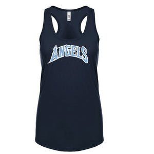 Angels Fitted Racerback Tank
