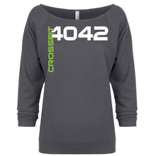 Load image into Gallery viewer, CF 4042 Ladies Terry Raw Edge 3/4 Sleeve Sweatshirt