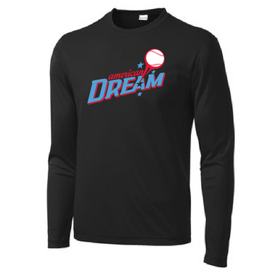 American Dream Dri-fit Long Sleeve Tee