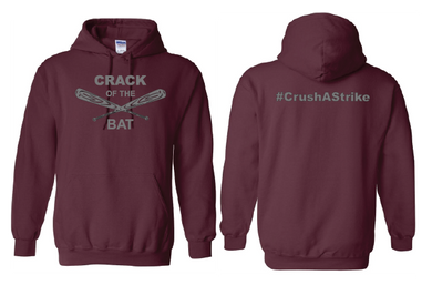 Crack of the Bat - Drifit Hoodie