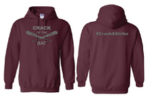 Load image into Gallery viewer, Crack of the Bat - Youth 50/50 Hoodie