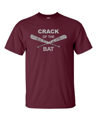Crack of the Bat - Cotton Short Sleeve Shirt