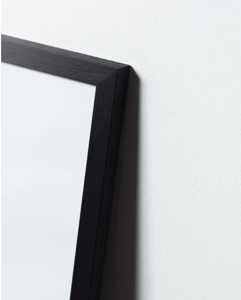 Frame in Black Painted Oak