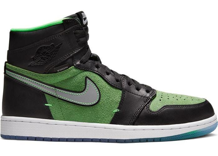 Jordan 1 Retro High Zoom Black Green