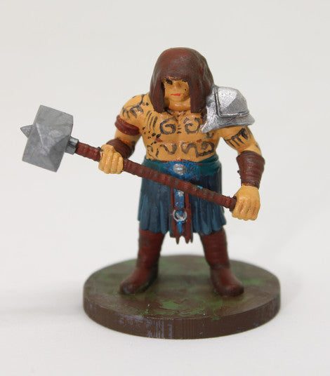 # 001 - Male Barbarian Dwarf