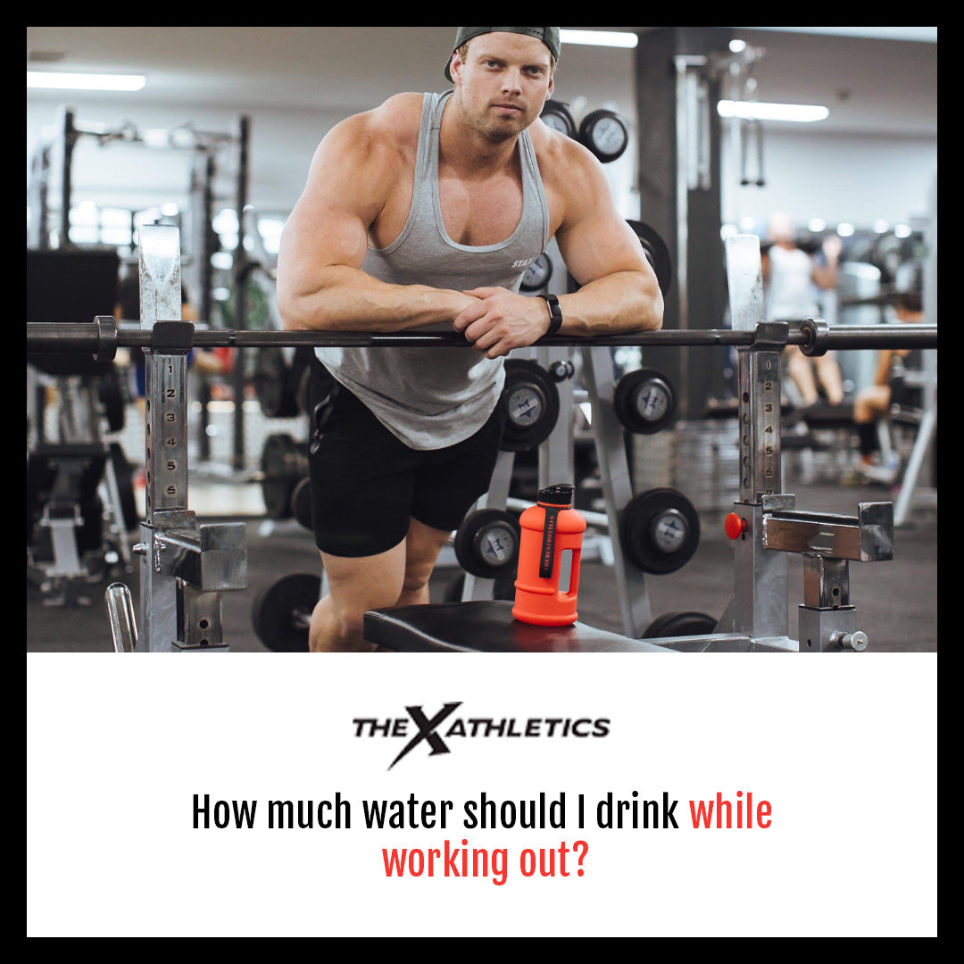 How much water should I drink while working out?